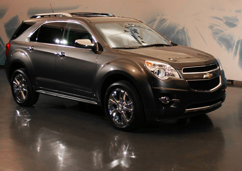 chevrolet equinox fotos e imagens autos cultura mix. Black Bedroom Furniture Sets. Home Design Ideas