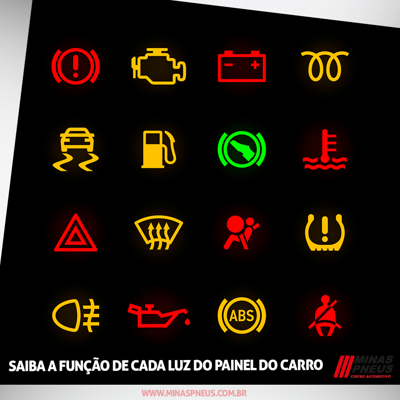 Bmw Dashboard Warning Lights >> O Que Significam As Luzes Do Painel Do Carro? | Autos - Cultura Mix