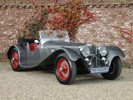 O Clássico Jaguar SS100 (1936)