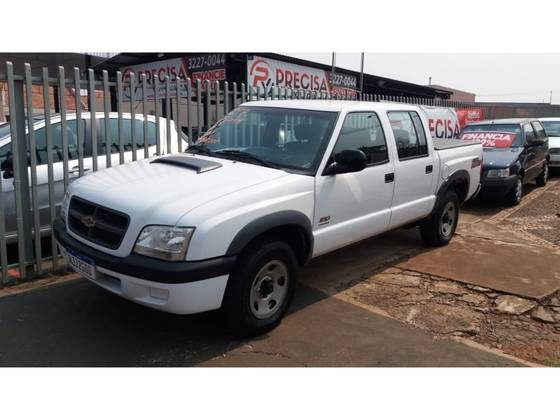 Chevrolet S10 2.8 COLINA 4X4 CD 12V TURBO ELECTRONIC INTERCOOLER DIESEL 4P MANUAL